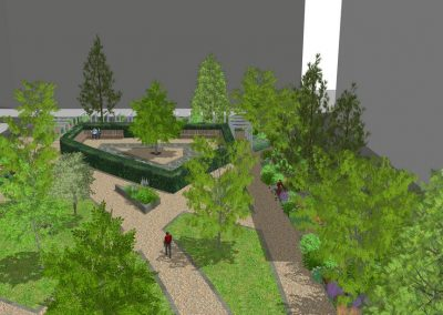 Public Space Concept – Kings Cross, London